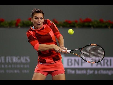 2016 BNP Paribas Open Third Round | Simona Halep vs Ekaterina Makarova | WTA Highlights