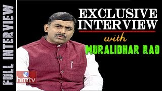 BJP Muralidhar Rao Exclusive Interview | Weekend Interview