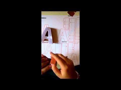 SnapDragon Snippets 3d letter a box Tutori
