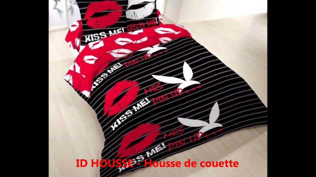 housse de couette idhousse tel 0355234039 vente housse de couette pas cher youtube. Black Bedroom Furniture Sets. Home Design Ideas