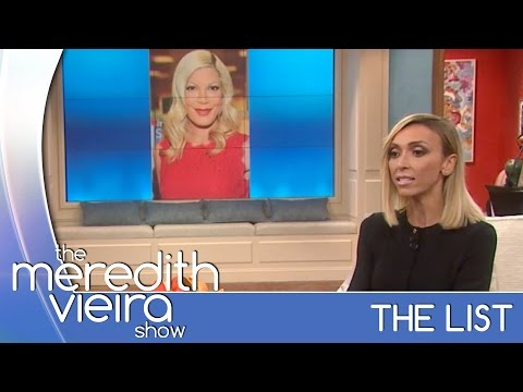 Giuliana Rancic's Obsession With Tori Spelling - #TheList | The Meredith Vieira Show