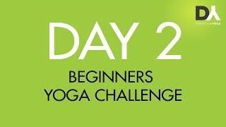 Йога челлендж для начинающих - День 2
