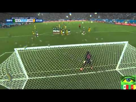 Mexico vs Cameroon  June 13, 2014  Highlights
