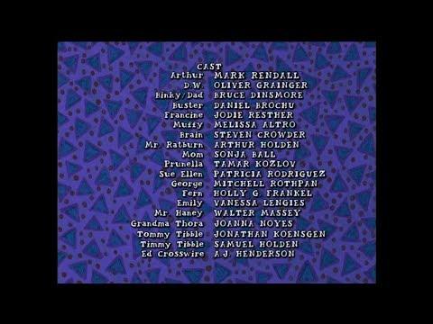 Arthur Season 6 - Techno Remix Credits