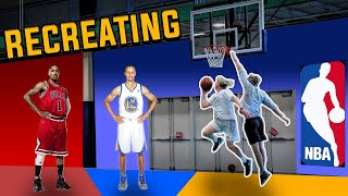 RECREATING The Craziest NBA Layups!