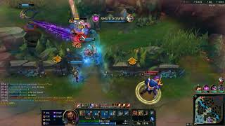 League of Legends Ft Udyr On Jungle (Game 2129 Patch 8.18)
