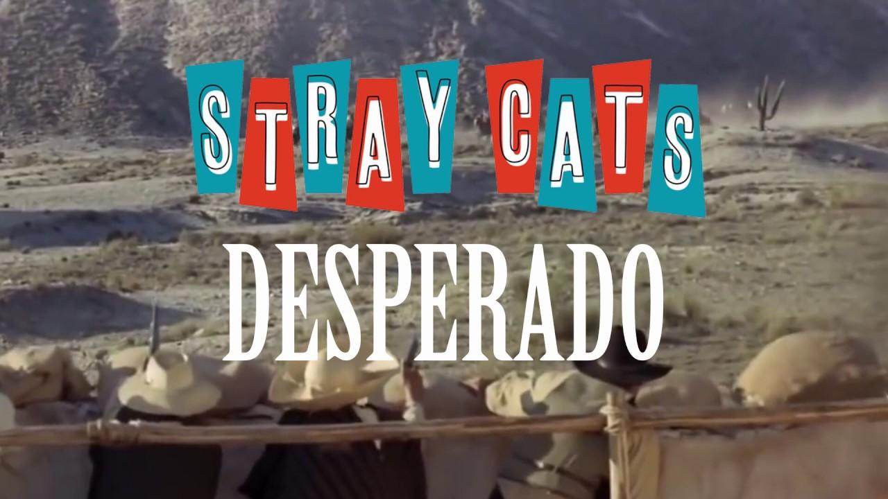 """Stray Cats - """"Desperado""""のMVを公開 新譜アルバム「40」収録曲 thm Music info Clip"""