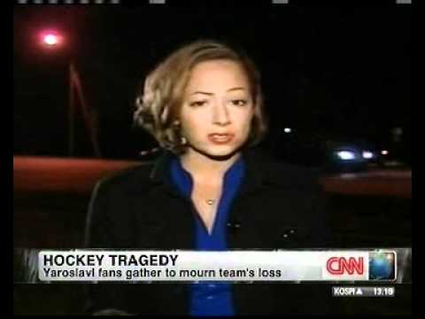 Hockey Tragedy - RT's Anissa Naouai on CNN