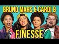 ADULTS REACT TO BRUNO MARS Ft CARDI B FINESSE mp3