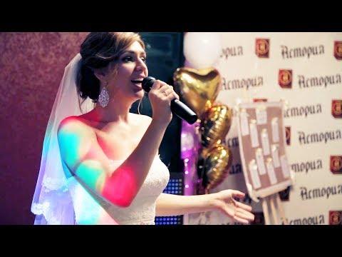 До СЛЕЗ''' песня невесты для жениха, жених плачет, она порвала зал, гости в шоке