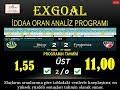 BAŞARININ İSPATI * ExGoal İY/MS Tahmin Analiz Programı thumbnail