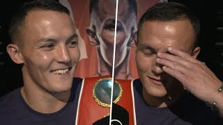 Josh Warrington sends heartwarming message to Carl Frampton after angry rant