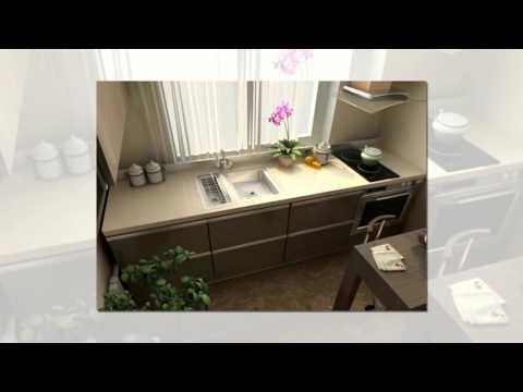 Идеи ремонта маленькой кухни #1