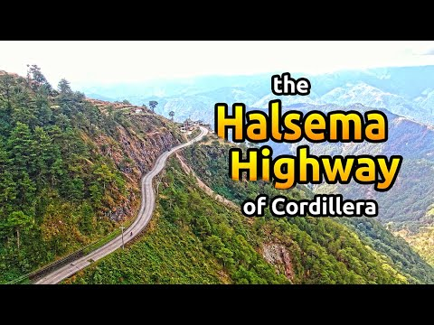 The Halsema Highway in Cordillera Philippines // One of the most dangerous road in the world