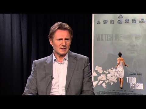 Third Person: Liam Neeson Official Movie Interview - Paul Haggis