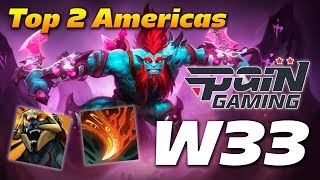 w33 Huskar | Top 2 Americas | Dota 2 Pro Gameplay