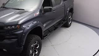 New 2019 Chevrolet Silverado 1500 RST Black Widow Lifted Truck