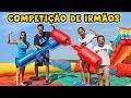 COMPETIÇÃO DE IRMÃOS! - DESAFIO ÉPICO! - KIDS FUN