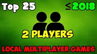 Top 25 Best Local Multiplayer PC Games (My ranking) / Splitscreen / Same PC / LOCAL CO OP