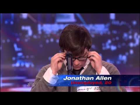 Most Emotional Audition Ever!! Jonathan Allen, Americas Got Talent