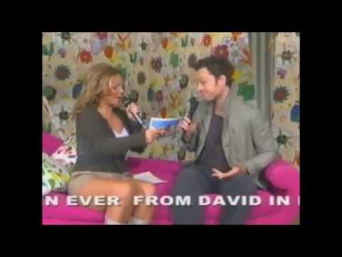 Geri Halliwell interviewing Darren Hayes PITP 2004
