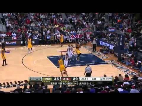 NBA CIRCLE - Indiana Pacers Vs Atlanta Hawks Game 6 Highlights - 3 May 2013 NBA Playoffs
