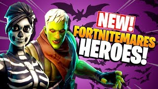 *FREE SPOOKY NEW HEROES!* Fortnitemares 2018   Fortnite Save the World PvE   Halloween Event Update