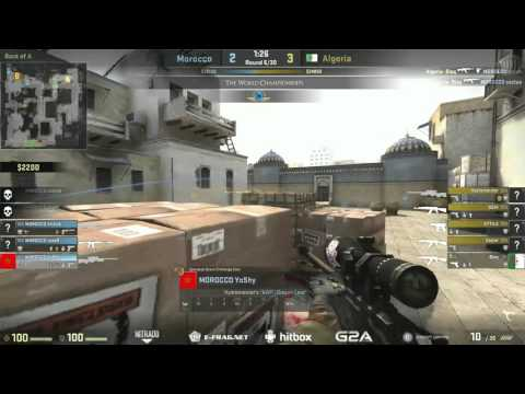 The World Championships 2015 (African Qualifier) | Algeria vs. Morocco | (Map: Dust 2)