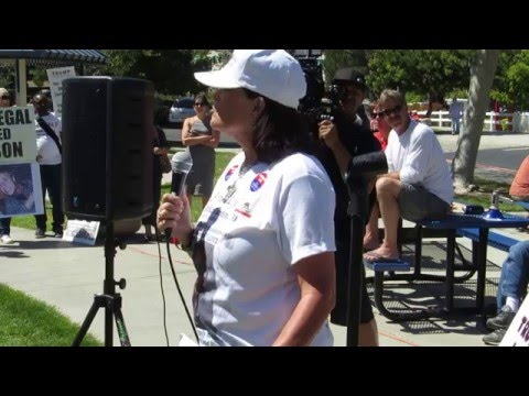 Legal immigrant's speech at Rally for Trump in Temecula, 3-26-16