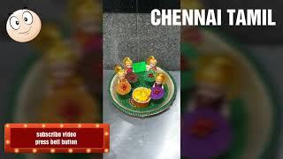 aarthi plates decoration ( hindu nadar marriage )