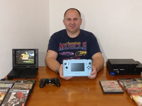 Обзор моей самодельной портативной консоль Sony PlayStation 2 PS2. часть 1