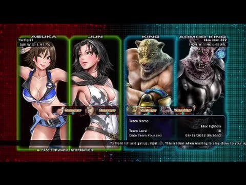 Tekken Tag Tournament 2 : Yanflip21 ( Jun X Asuka ) VS blue Man 322 ( Armor King X King )