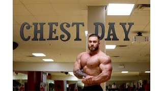 Chris Bumstead Off Season Chest Day