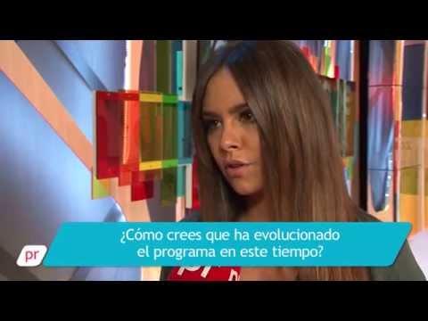 VÍDEO Cristina Pedroche habla con prnoticias sobre el primer aniversario de 'Zapeando'