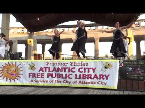 Atlantic City Library International Night Series with Nritya Creations on July 30, 2014