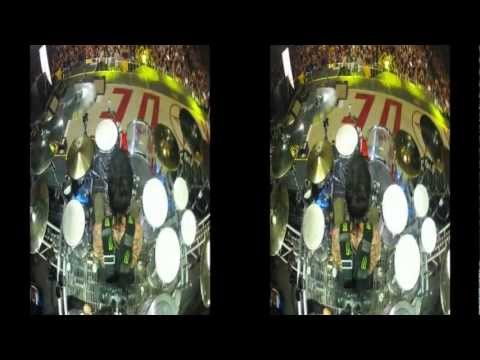 Coaster Drum Solo in 3D