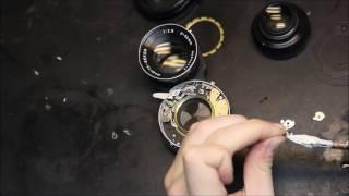Servicing Mamiya Twin-Lens Shutter