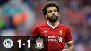Wigan Athletic vs Liverpool 1-1 All Goals Extended Highlights Friendly 14/07/2017