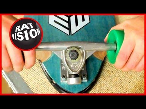 Fix Loud Squeaky Skateboard/Longboard Trucks