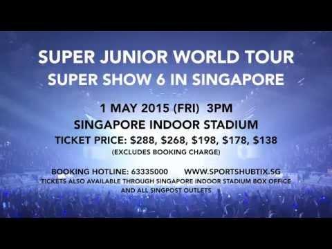 Super Junior World Tour Super Show 6 In Singapore video