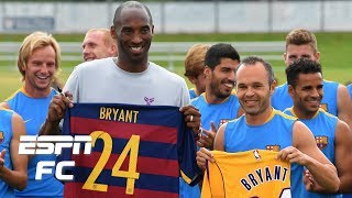 The soccer world mourns the death of Kobe Bryant | ESPN FC