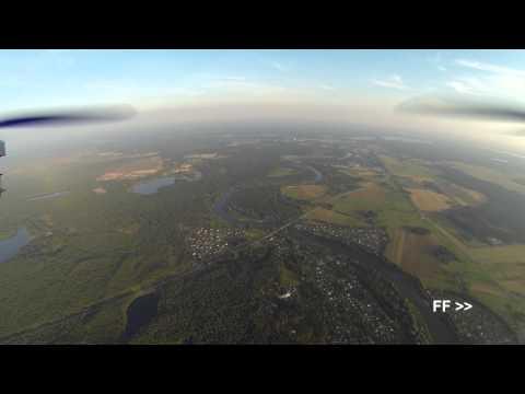 Quadcopter FPV high altitude (1100m)