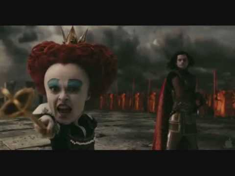 Tim Burton's Alice in Wonderland preview & music video - Post Death Soundtrack 2010