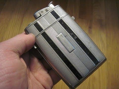 Filling a Vintage Lighter for a Friend