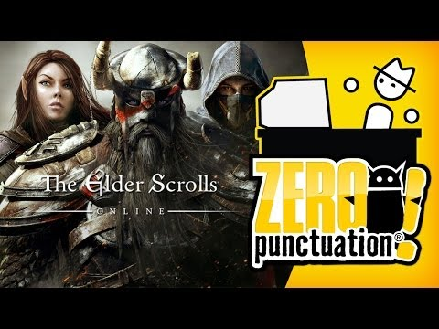 THE ELDER SCROLLS ONLINE - WE CAN MMO TOO (Zero Punctuation)