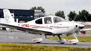 Michel Drucker on board! Cirrus SR22 G3 F-HDMA Taxi and Takeoff at Albi [LBI/LFCI]