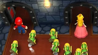 Mario Party 9 Step It Up - Luigi vs Peach vs Mario vs Waluigi Master Difficulty Gameplay   GreenSpot