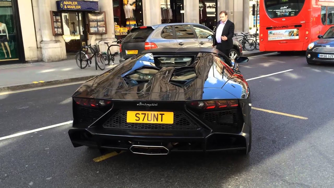James Stunt Supercar Fleet Lamborghini Aventador Rolls