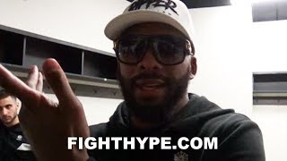 BADOU JACK RAW AND UNCUT POST-FIGHT REACTION TO DRAW; TELLS ALL ON STEVENSON FIGHT, REMATCH & MORE