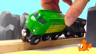 TOY TRAINS CITY! - Brio Toys MEGA TRAINS Compilation for Kids
